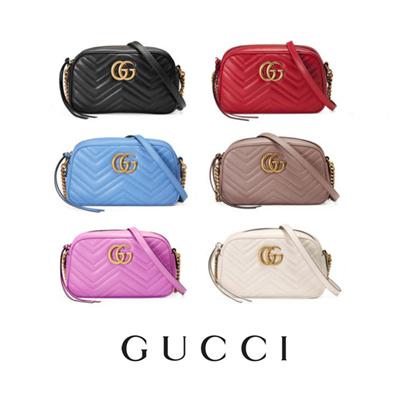 79648cfae7e Qoo10 - GG Marmont matelassé shoulder bag   Bag   Wallet