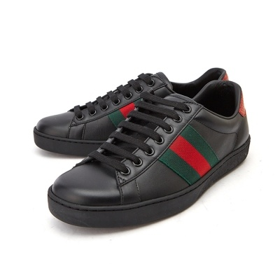 5e526e438f1  Gucci  Ace 386750 A38D0 1078 Mens Leather Sneakers (UK) Big Size