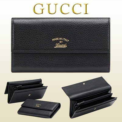 new styles a0845 66781 GUCCIGucci GUCCI Purse Ladies Black 354496 CAO 0 G 1000 New Spring-Summer  2015