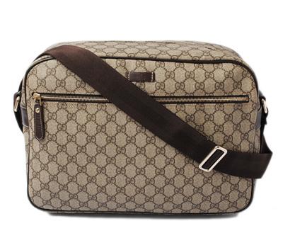 75701c6c0ae4 Gucci Messenger Bag / Shoulder Bag GUCCI GG Plus GG Brown / Beige 211107  [pre
