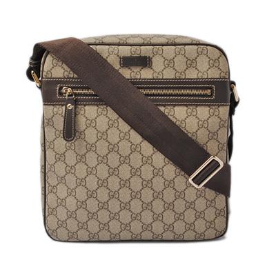 9976cbaafe9 Gucci Messenger Bag   Shoulder Bag GUCCI GG Plus GG Brown   Beige 201448  KGDIG 8588