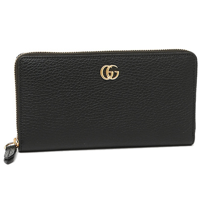 e5ceefe4680 GUCCI Wallet Gucci 456117 CAO 0 G 1000 PETITE MARMONT Leather zip Around  wallet wallet