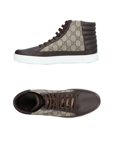 Qoo10 -  Shipping from USA GUCCI GUCCI Sneakers 11436216CL   Men s ... 695ff33fe2b8