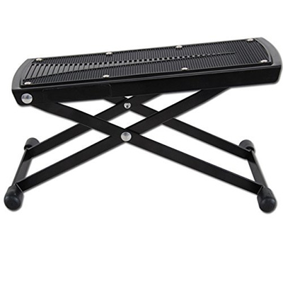 Fine Guitar Foot Rest Height Adjustable Guitar Footstools Folding Footstool Pedal Black Gmtry Best Dining Table And Chair Ideas Images Gmtryco