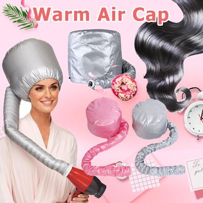 Hair Dryers Portable Dryer Hat Soft Hood Bonnet Attachment Haircare Salon Hairdressing Home