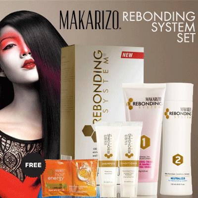 (Hairshop Fransiska Hair Treatment) Makarizo Rebonding Tube