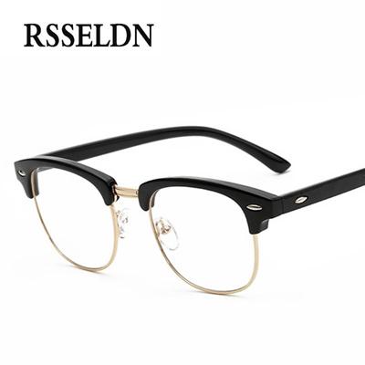 640f25dda7 Qoo10 - half frame eyewear vintage eyeglasses frames women fashion unisex  eye ...   Men s Bags   Sho.