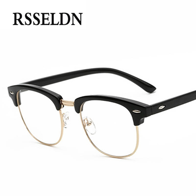 Qoo10 - half frame eyewear vintage eyeglasses frames women fashion ...