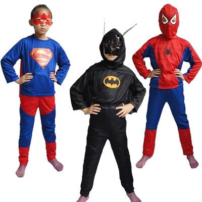 Halloween Costume Superman Batman Suit Spider Man Costume Children s Clothing
