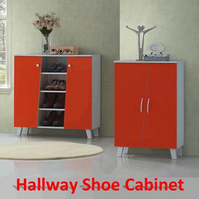 qoo10 - hallway shoe cabinet / rack / storage in 2 sizes 4