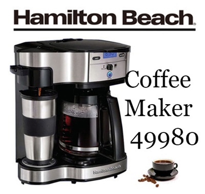 Qoo10 Hamilton Beach 49980 2 Way Brewer Coffee Maker Drip Coffee