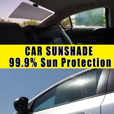 Qoo10 Hanatools Sun Bat 6 Sheets Reusable Car Sunshade 99 9