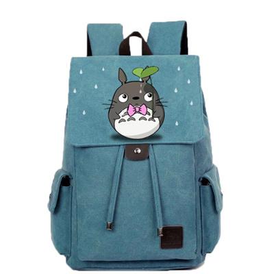 c84e70af86b0 Hand-drawn cartoon animation Totoro backpack school bag backpack schoolbag  school wind middle school