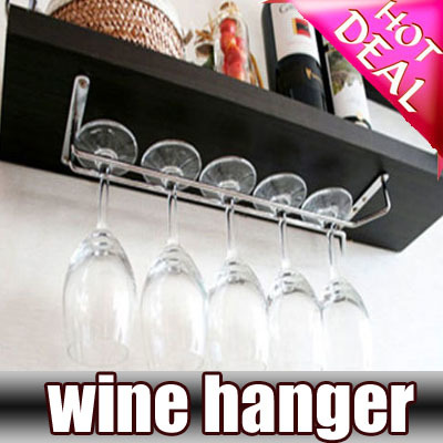 Qoo10 - Hanging Wine Glass Rack DIY Drinking Glasses ...