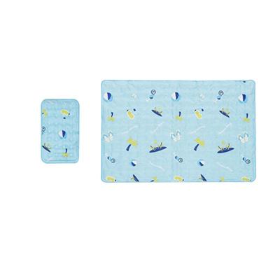 Hanil Cool Gel Mattress Bed Pad Cooling Topper Summer Beach SET Single// Double