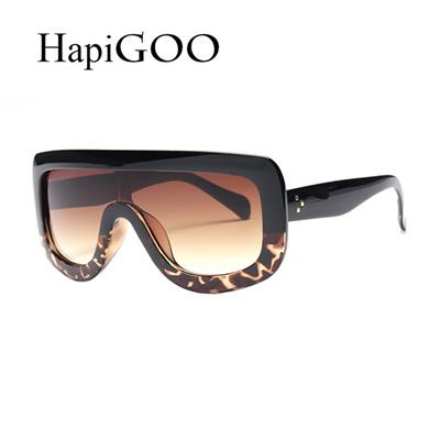9c25d4180a Qoo10 - HapiGOO Fashion Oversized Square Gradient Sunglasses Women Kim  Kardash...   Fashion Accessor.
