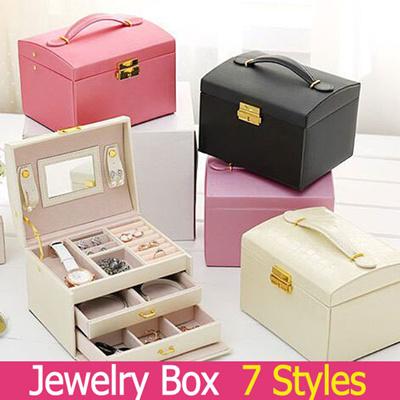 Qoo10 Jewelry Box 7style Watch Jewelry