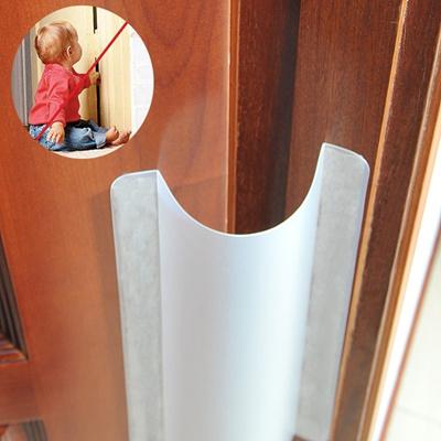 Qoo10 Hard Plastic Door Hinge Guard Finger Pinch Guard