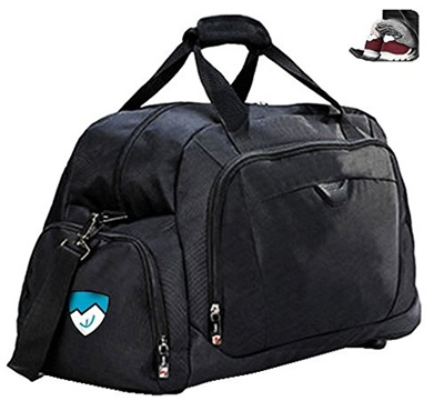 Qoo10 Hard Work Sports Duffle Bag Gym Bag With Shoe Compartment