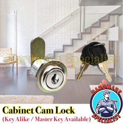 Hardware SpecialistCabinet Cam Lock / Letter Box Cam Lock [Key Alike /  Master Key Available]