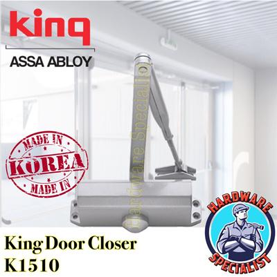 King Door Closer 500 Series Model K1510 (Hold Open Function 90 Deg)MADE IN  sc 1 st  Qoo10 & Qoo10 - King Door Closer 500 Series Model K1510 (Hold Open ...