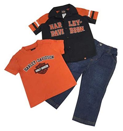 Harley Davidson Baby Clothes Delectable Qoo60 HarleyDavidson HarleyDavidson Boys Baby BS Logo Shop