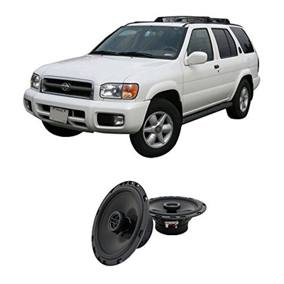 Harmony Audio Fits Nissan Pathfinder 1996-2000 Rear Door Factory  Replacement Harmony HA-R65 Speakers