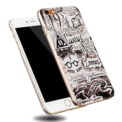 first rate e7ae7 985dc Harry Potter Coque Hard Transparent Plastic Phone Back Case Cover for Apple  IPhone 6 6S Plus 3D Pain
