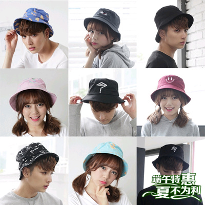 03b6d4c163f Qoo10 - Hat male Korean anti Sai bucket hats summer influx of people men  and w...   Fashion Accessor.