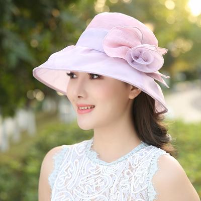 f1d361b4cc1 Qoo10 - Hat women s fashion wild Sun Korean Hat 2017 new collapsible travel  an...   Fashion Accessor.