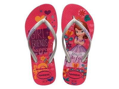 0debdd9cc Qoo10 - Havaianas Kids Slim Princess Sofia Orchid Rose Flip Flop ...