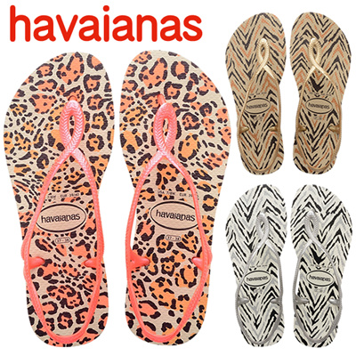 41a8f52e137c10 Havaianas havaianas Luna Animals LUNA ANIMALS Ladies beach sandals Flat  sole Standard top and slim also. prev next