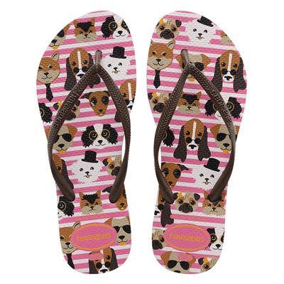 7942861c4 Qoo10 - Havaianas Slim Pets Shocking Pink Flip Flop   Shoes