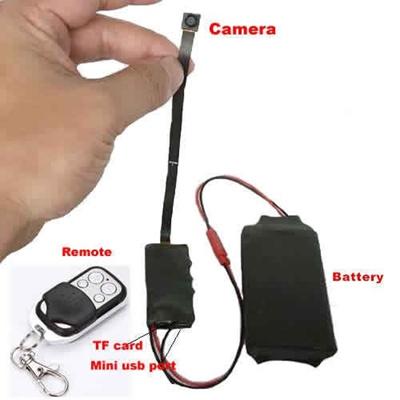 HD 1080P DIY Module SPY Hidden Camera Video MINI DV DVR Motion Remote Control BP