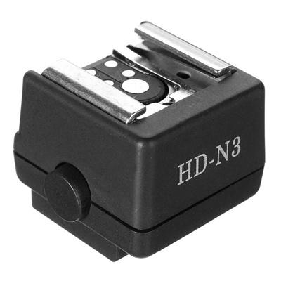 ef6a3c6df6 Qoo10 - HD-N3 Hot Shoe Adapter Flash Hot Shoe PC Sync Socket Adapter Sony  Mino...   Cameras   Record.