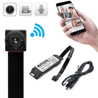 Hd Wireless Mini Wifi Ip Spy Camera Hidden Diy Module Dv Dvr Nanny Pinhole Portable Micro Liive Cam