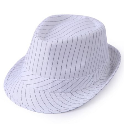 Houndstooth Fedora Stingy Short Brim Gangster Cuban Style Hat Cap