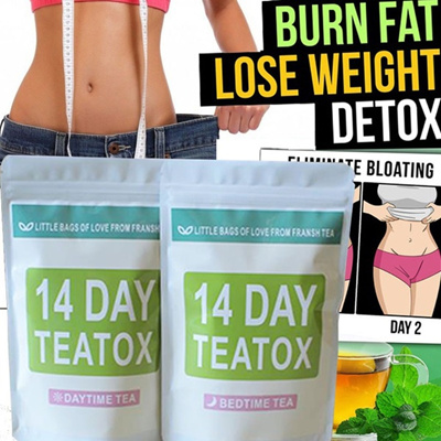 Health Appetite Suppressant Thin Belly Tea Herbal 14 Days Crude Effective Weight Loss Tea