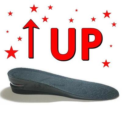 Height Increase shoe Inserts Insoles Heel Lifts Pads 1cm 1.5cm 2cm 3cm  4.5cm 6cm