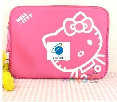Qoo10 - Hello Kitty 14 inch notebook computer bag ladies cute cartoon  Korean i...   Furniture   Deco d33c50c13e304