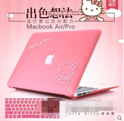 save off f45bb e7c96 Hello Kitty Apple notebook case Pro air MacBook computer sleeve sticker film