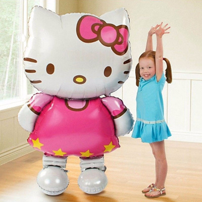 Hello Kitty Cat Foil Balloon Wedding Birthday Party Decoration Inflatable Air