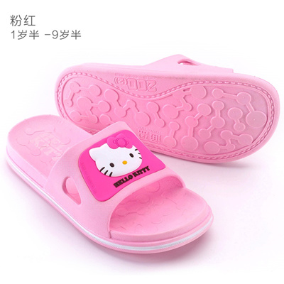 Qoo10 - Hello Kitty children s slippers girls shoes Shaheen kid  family-friendl...   Kids Fashion 25764ea85
