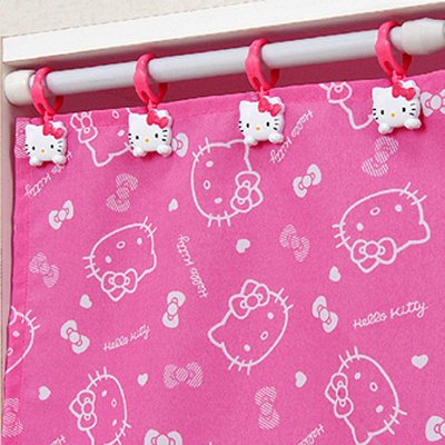 9f251cbec Hello Kitty Curtain Clip Shower Holder Rod Drapery Hook Rings Bathing  Bathroom