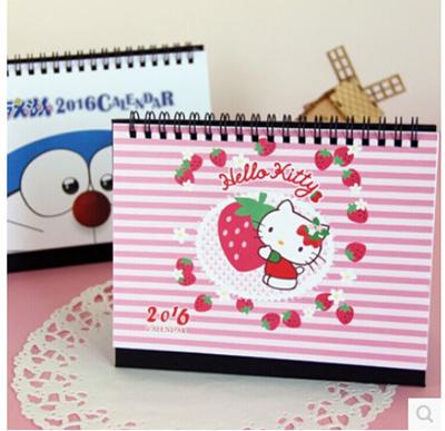 Qoo10 - hello Kitty cute notebook Desktop Calendar lovely abby ... c0a79bdf6e2f4