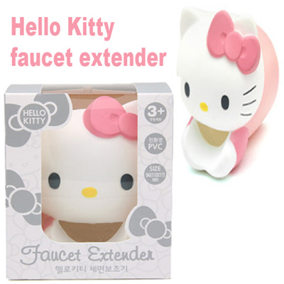 Qoo10 Hello Kitty Faucet Extender Secure Faucet Cover Bathroom Sink Fau