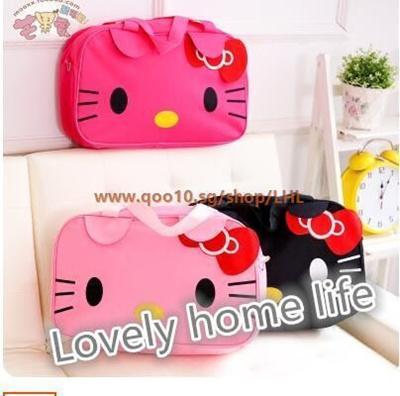 Qoo10 - hello kitty handbag shoulder bag cute cartoon bag   large  waterproof b...   Furniture   Deco 7876fb6ee85c3