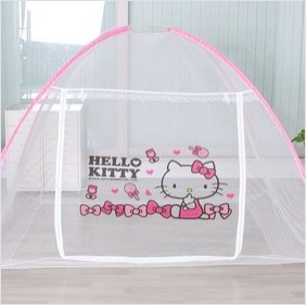 [Hello kitty]]hello kitty toddler bed mosquito net tent/1-2people & Qoo10 - [Hello kitty]]hello kitty toddler bed mosquito net tent/1 ...