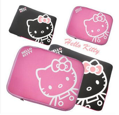 2d3be6d4e Hello Kitty Laptop Sleeves 13 14 15.6 Cartoon Pink Carrying Case Waterproof