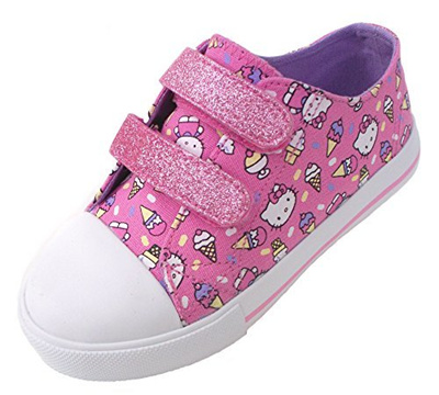 Qoo10 - HELLO KITTY LIL ANA GIRLS TODDLER FASHION SNEAKERS   Kids Fashion 8d1e1a3a9